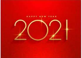 2021年金色新年红色背景设计_115626770101