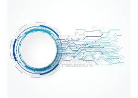 具有线网和文本空间的技术概念背景_26690970101