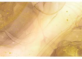 典雅的抽象金色背景带有闪亮的元素_122358500101