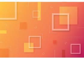 几何形状的抽象渐变背景_117407200102