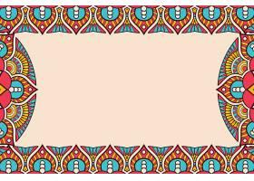 名片复古装饰元素观赏花卉名片东方图_129196170101