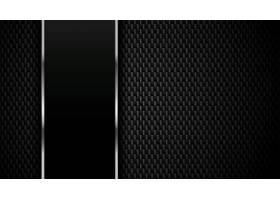以金属线条为背景的碳纤维织构_89984420101