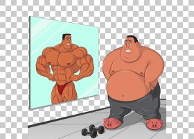 胖子与肌肉男