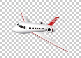 逼真的卡通飞机