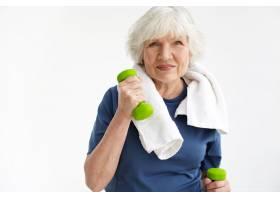 健康健康活动成熟和年龄概念乐观的_11202295