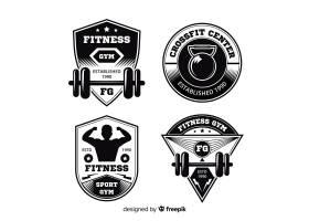 CrossFit励志标志平面设计集锦_4928043