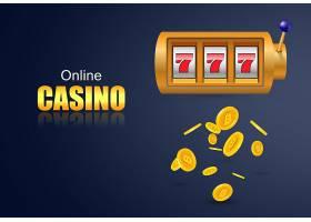 在线赌场刻字老虎机和飞扬的金币赌场商_2541270