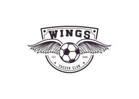 足球标志模板设计_971767