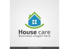 绿色和蓝色的房地产标志_816008