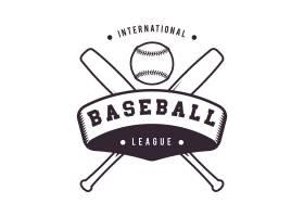 棒球标志模板设计_971766