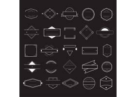 图标符号徽章徽标集合概念_2461905