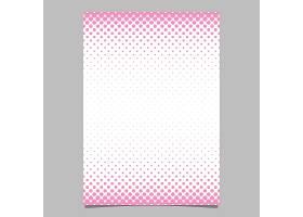 简约抽象半色调网点图案宣传册设计模板带_1301068