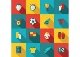 足球图标扁平_1531156