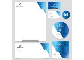 蓝色商务文具_1020932