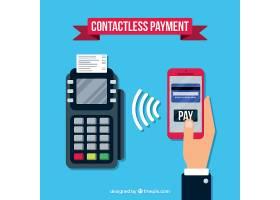 采用扁平化设计的现代支付方式_1307832