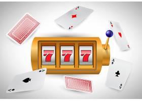 幸运的7号老虎机和飞行王牌赌场商业广告_2541229
