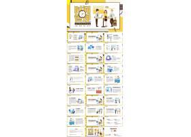 企业员工时间管理培训教育ppt模板企业安全培训ppt,企业文化培训p