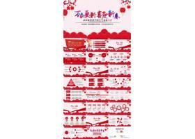 春节表彰大会ppt模板