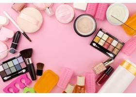 美容水疗的女性概念不同的彩妆美容护理品_1349413