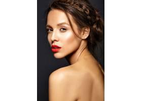 每天化妆清新的女模特_6933236