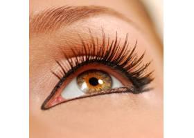 人类的女性眼睛假睫毛班轮_11182303
