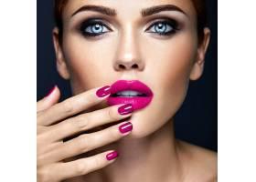 每日妆容清新的性感美女模特特写画像_6766408