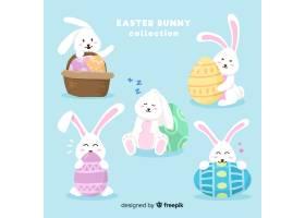 简单的复活节兔子系列_4037340