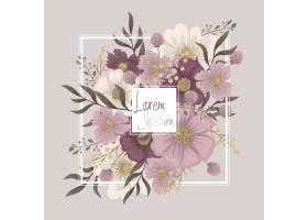 花框粉红色花边_12951553
