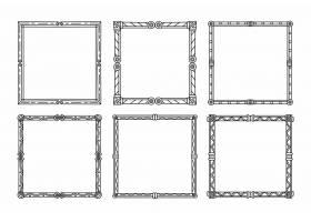 绘画典雅的装饰框收藏集_12151222