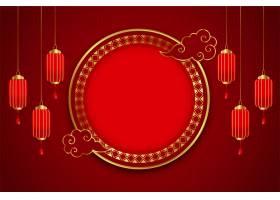 中国传统贺卡灯笼装饰_12158340
