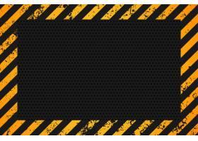 黄黑条空背景设计_8038894