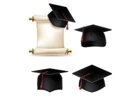 大学或学院学历证书教育公文的毕业帽_3266518