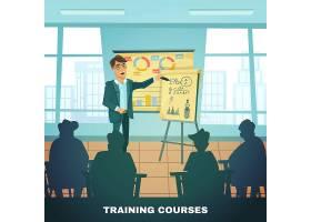学校培训课程海报_3797727