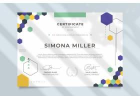 现代专业证书模板_8560376