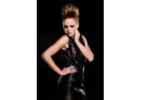 高级时尚造型美丽性感时尚的高加索年_6492696