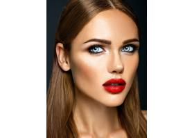 美女模特的感官魅力写真清新的日常妆容_6766647