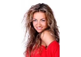 年轻金发女子的肖像_7629974