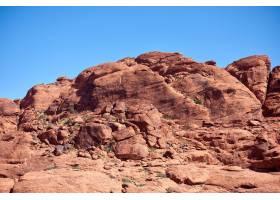 美国内华达州红岩峡谷景观_856563101