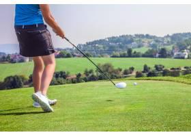 斯洛文尼亚Zlati GRIC高尔夫球场上的女职业_1244937001