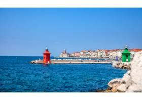 斯洛文尼亚的皮兰小镇位于地中海的主体上_1329128101