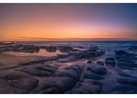 澳大利亚昆士兰海岸上空美丽的日落特写_1300535401