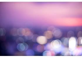 城市夜景的模糊景象_279209101