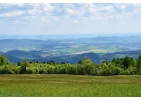 夏天的山上有美丽的风景捷克共和国白色_292454501