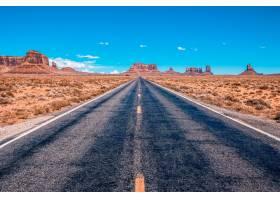 从美国风景路到犹他州纪念碑谷公园的景色_1047018601