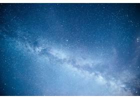 充满活力的夜空有星星星云和星系_1018114201