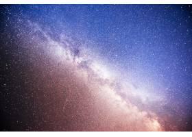 充满活力的夜空有星星星云和星系_1018120501
