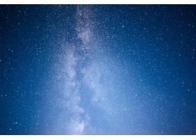充满活力的夜空有星星星云和星系_1018120701