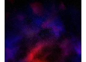 五颜六色的夜空星云和星空_111798601