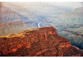 亚利桑那州著名的大峡谷令人叹为观止的高角_918462001