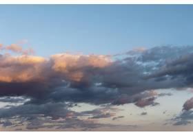 白天天空中美丽的天然云彩_12087309